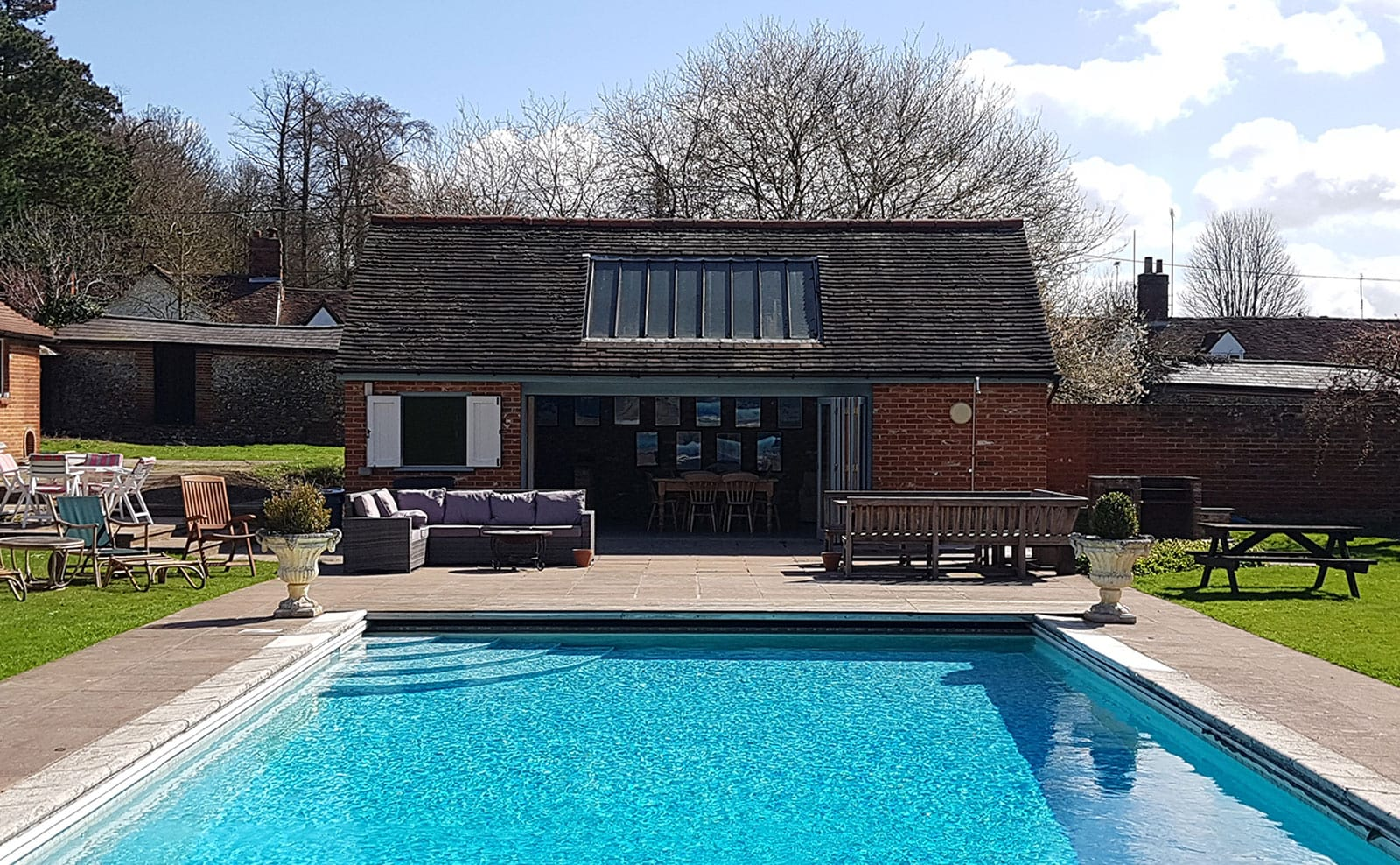 Large Group Accommodation Essex with Heated Pool